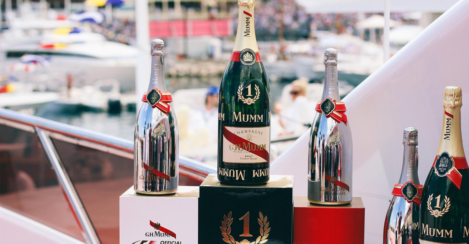 Mumm Champagne   Monaco GP 2017