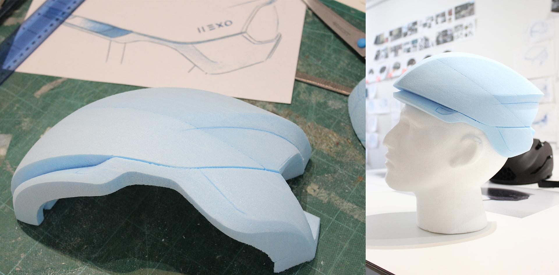 Hexr | Foam modelling