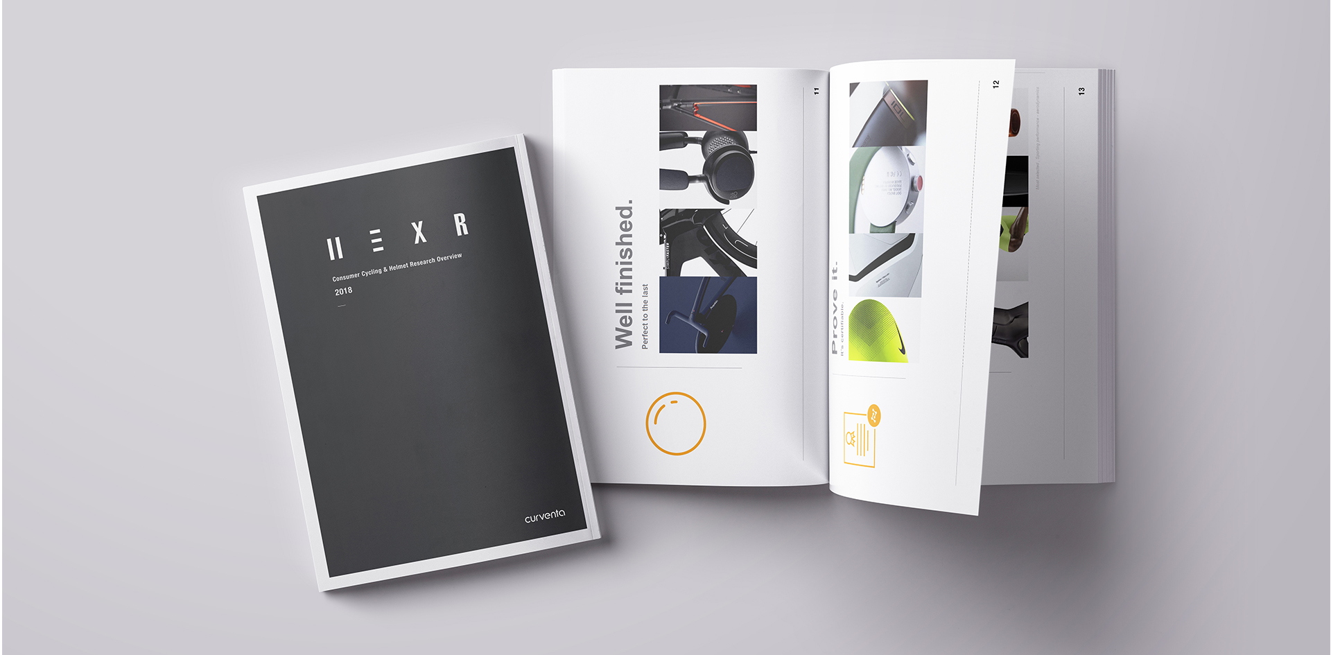 Hexr | Consumer cycling research booklet