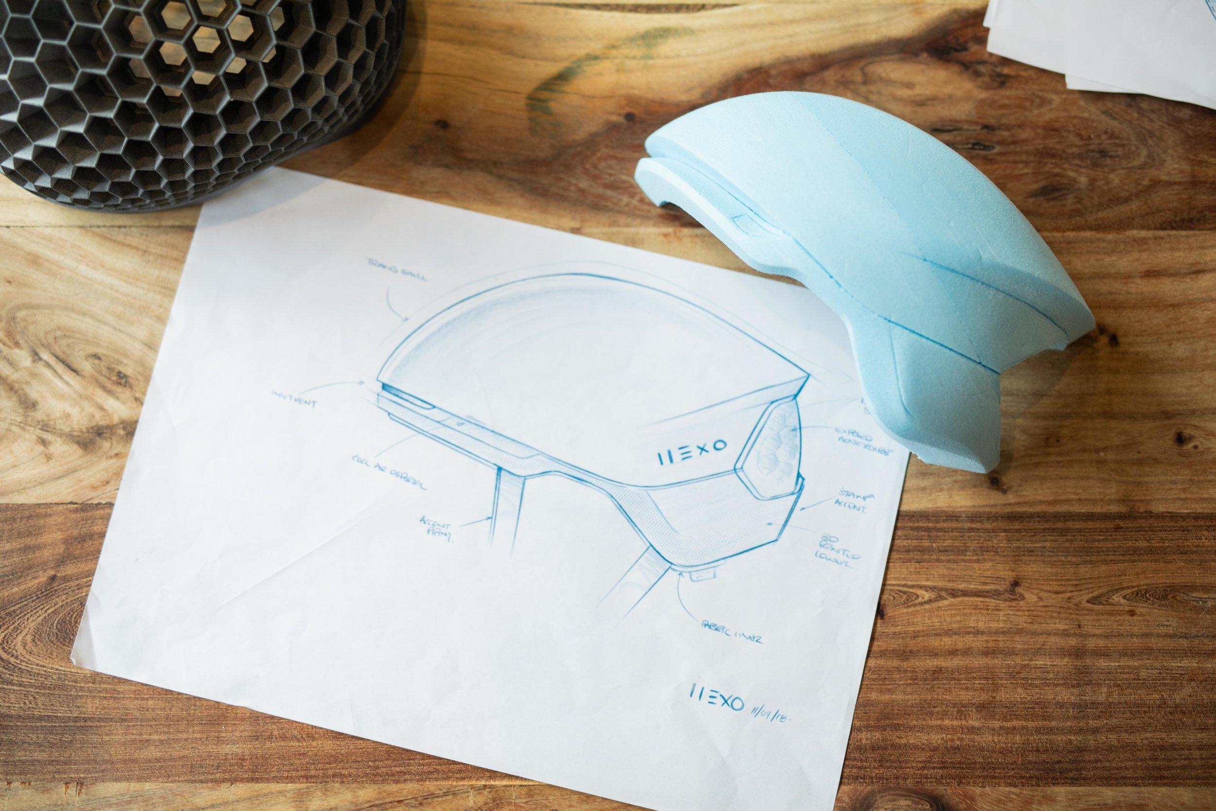 Hexr | Concept development and foam modelling