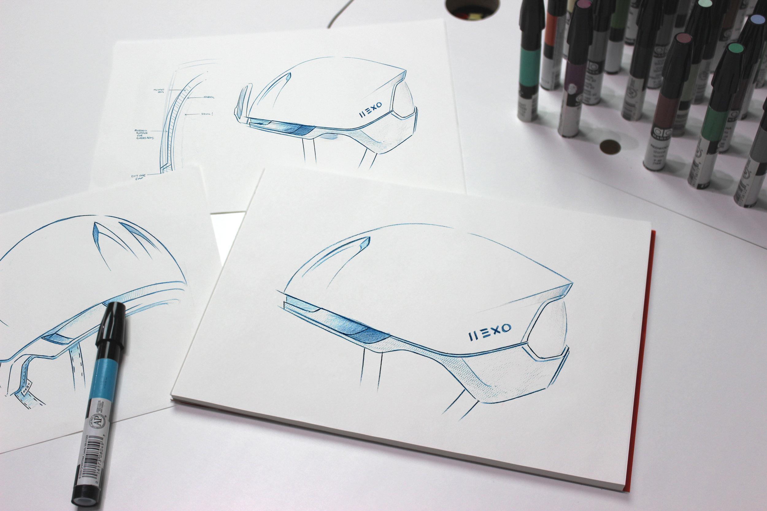 Hexr | Developed concept route