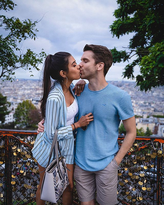 Thankful for having you in my life ❤️ I'll never forget that day in Paris!  Video is up now, go watch how @jossalm surprised me with one of the best days of my life! (Link in bio)