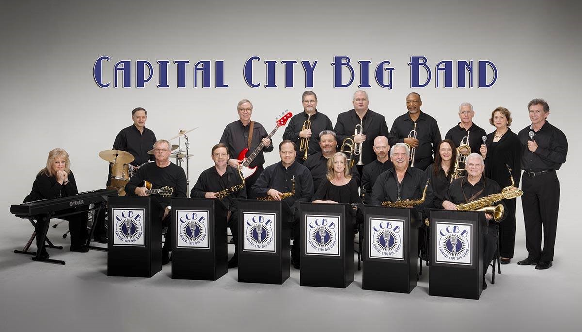 Capital City Big Band - The Capital City Big Band, based out of Columbia, SC, was founded in 1999 and has been directed by Robert Gardiner since 2018.AboutCapital City Big Band is a 20 piece big band playing jazz hits from the big band era as well as contemporary jazz arrangements.BAND MEMBERSTom Landrum, Ron Prinz, Tommy Thomas, Dionne Preussner, Toni Moore, Denis O'Neill, Gary Hodo, Brian Dressler, Eddie Lemacks, Tim Patterson, Rob Snakenberg, Mark Rouse, Mike Cheatham, Douglas Martin, Joe Miller, Max Dangerfield, Catherine Allgrim, Ashley Fleshman, Jonathan Warburton, Andrew LoefflerGeneral ManagerFor more information, contact Communications Director Brian Dressler: brian@dresslerphoto.com