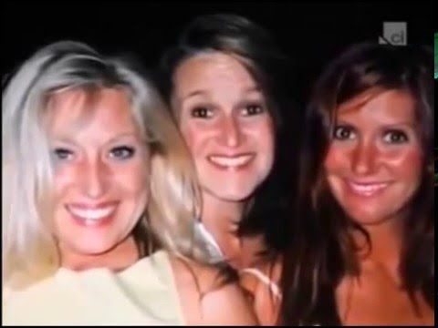 Michelle with her friends, Debbie on right Michelle in middle