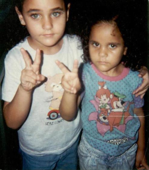 Amina and Sarah