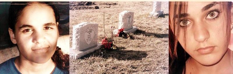 Sarah and Amina's Graves