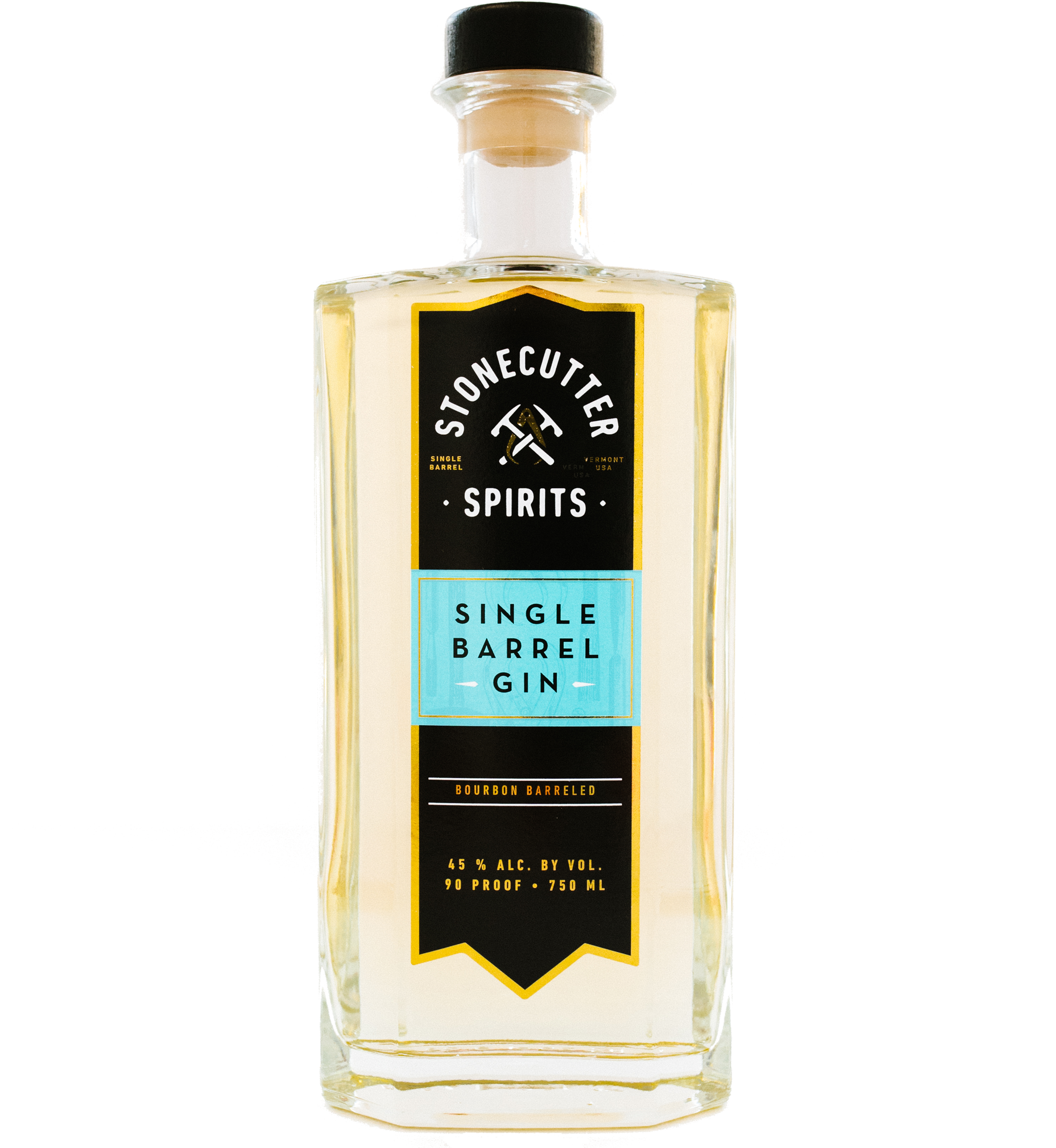Stonecutter Spirits Vermont Distillery Single Barrel Gin
