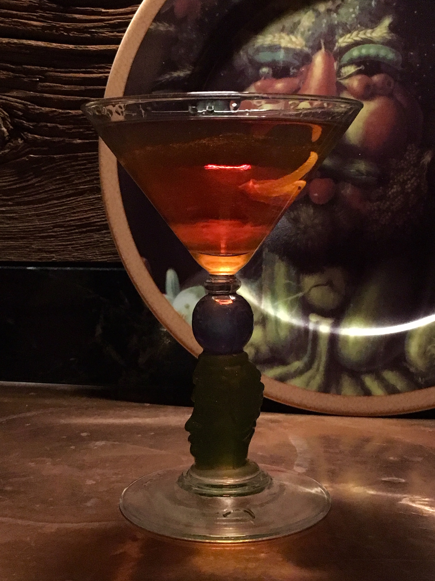 Runcutter Sazerac cocktail