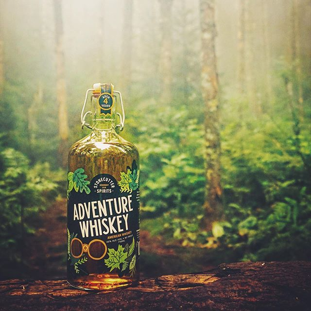 🌿💛WHISKEY LAUNCH PARTY💛🌿 Starting at noon, we're releasing ADVENTURE WHISKEY, an easy-going American whiskey for an adventurous afternoon.  Tuck this bottle into the river while you're jumping off cliffs or stow in your ice-filled cooler while you're digging for buried treasure or fending off wolves.  Special FREE whiskey glass for the first 25 bottles purchased, and $10 Boilermaker specials all day!  Plus: 💚Barrel Room Foursquare 💚FREE trail mix 💚FREE adventure map to the Stonecutter squads favorite hidden Vermont spots 💚Your first chance to get your 4th Annual Stonecutter Spirits Cocktail Scavenger Hunt card, and start planning your route!  Be the first to adventure with a bottle of this special release!