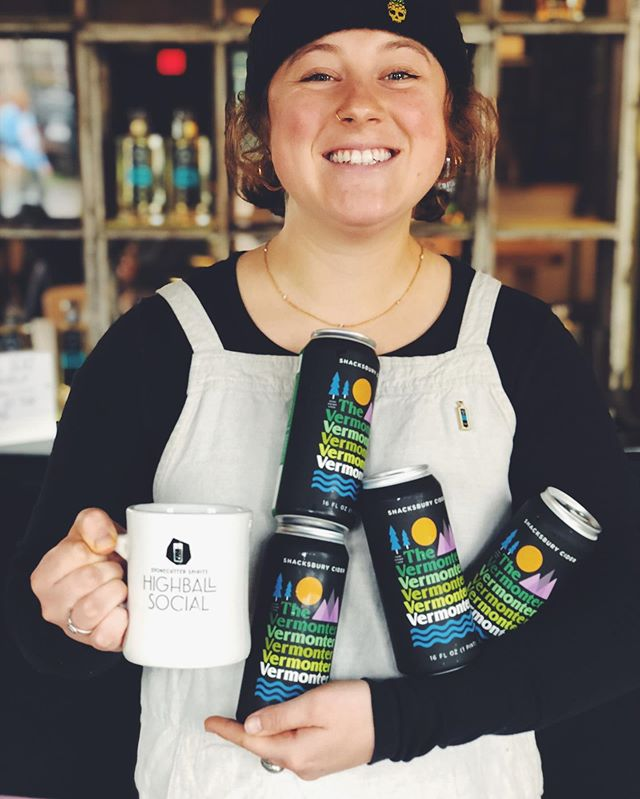 Sending a big birthday shout out to our lady Liza (@_liza_tarr_ ), who is fearless, creative, and a firecracker edition to our team. She's cranking it out in the distillery tasting room tonight so come by Middlebury and show her nothing but 💕💕💕!