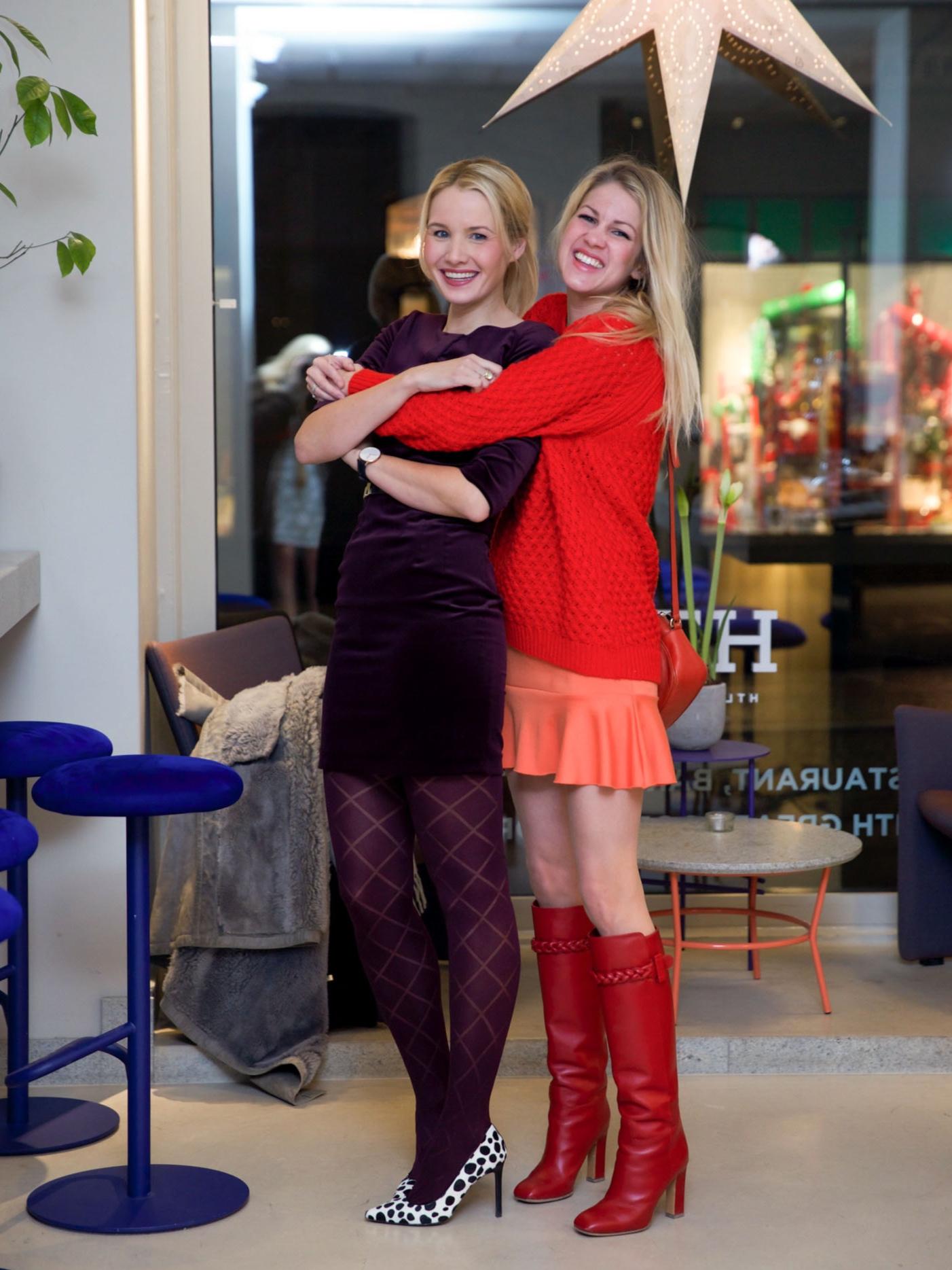 Nina Buzzi og Dagny Thurmann-Moe. Foto: Tine Monsen