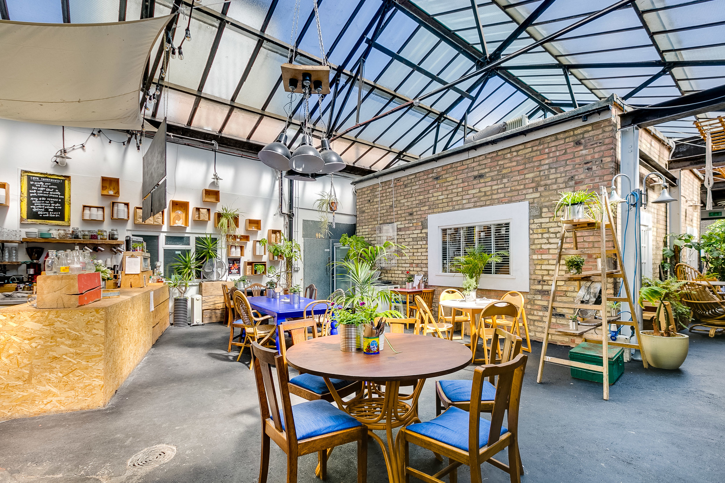 The Greenhouse N16 - Desks, Studios, Event Space, Meeting Rooms, Cafe, Yoga