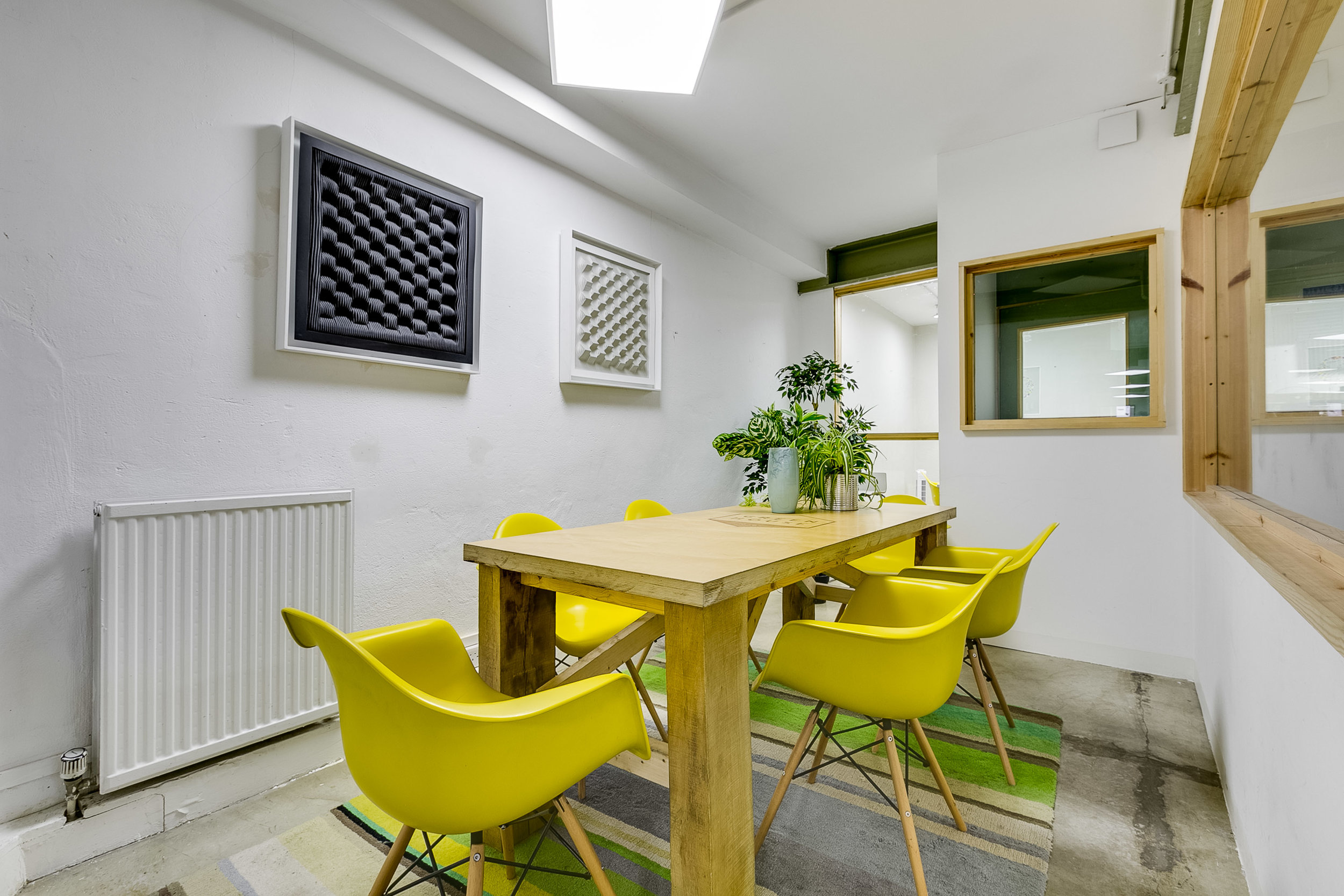 Meeting Rooms - We have multiple meeting room spaces available for hire. Perfect for presentations, group days out of the office and collaborations.