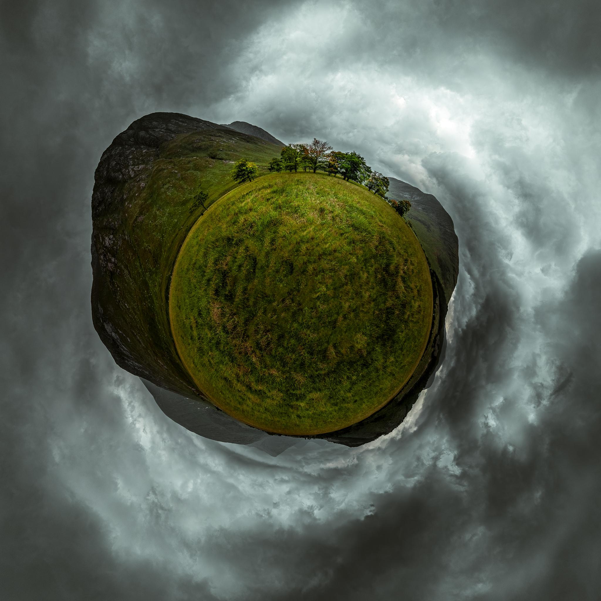 360° little planet