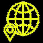 Globe Map Pin