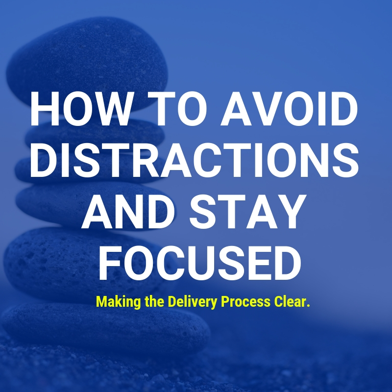 Avoid Distractions and Stay Focused - Shippers shouldn't be distracted from their core business from freight brokers providing bad service.