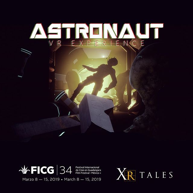 Immerse yourself into the dark void of space. Coming Soon! #xrtales #ficg34 #virtualreality #unreal #space