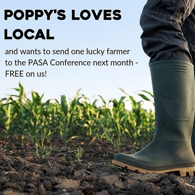 Awesome opportunity from Poppy's Green Grocer.
