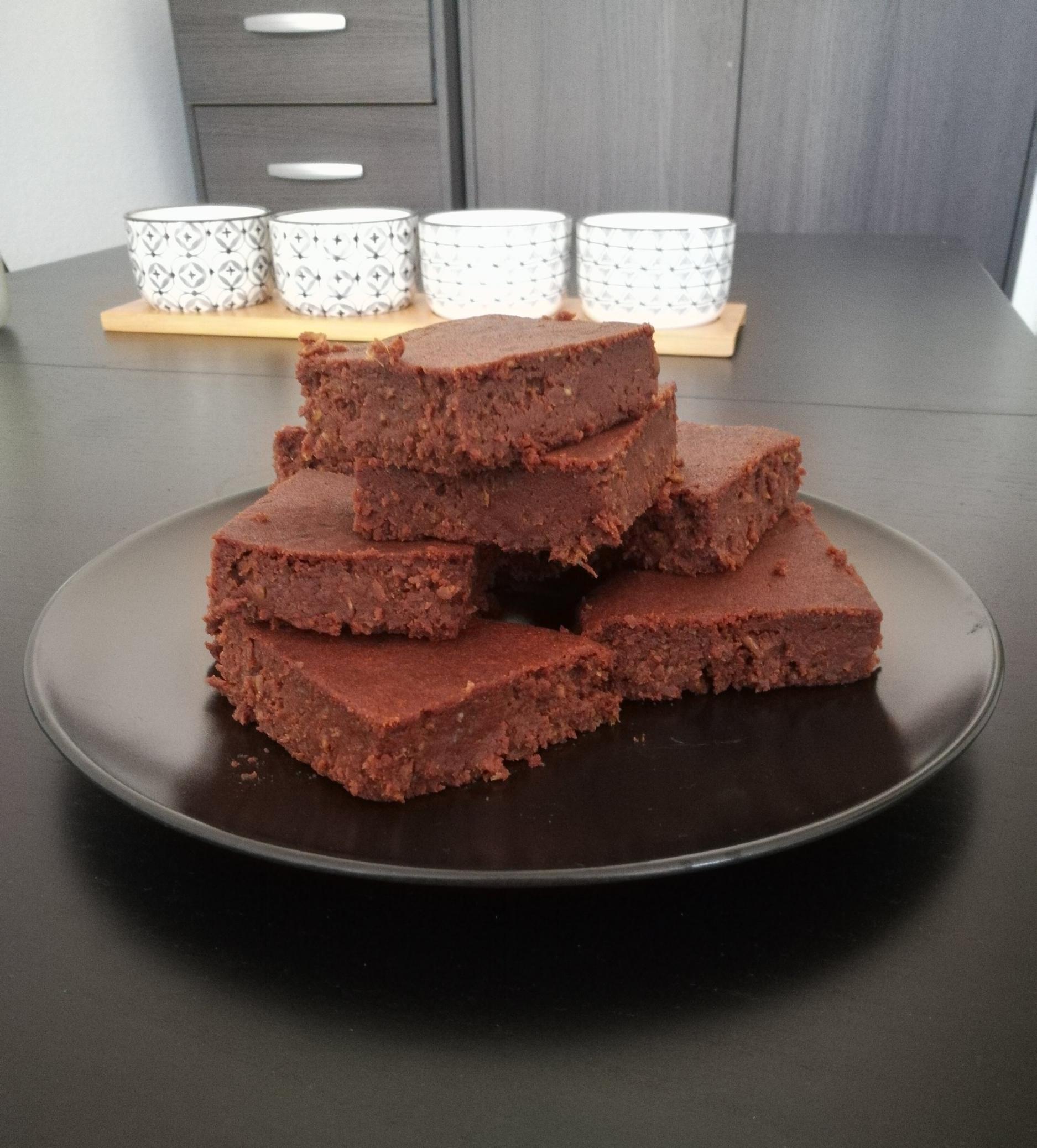 Oatmeal brownies aux moût caramélisé