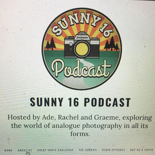 I'm super excited to be on today's @sunny16podcast and about this amazing graphic by @fotodudenz and getting to meet Graeme, Rachel and Ade after listening to them all year. I spent about two hours on the phone with Graeme afterwards and he was super encouraging and inspired me to bang out a few more projects and bring them out with no fanfare other than an Instagram post. I'm really grateful for that. Super exciting day. Listen to me babble about cameras and the camera biz on their podcast.  #sunny16podcast  #analogphotography  #filmphotography  #35mm #120 #mediumformat #4x5 #35mmfilm #120film #4x5film #4x5camera #largeformatcamera  #largeformat #largeformatfilm #shootfilm #shootfilmbenice #mediumformatfilm #filmcamera #analogcamera #largeformatcamera