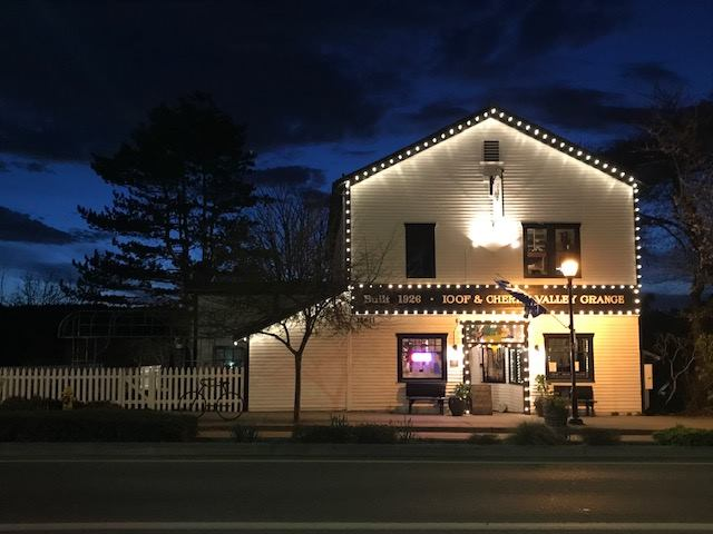 The Grange at Twilight -