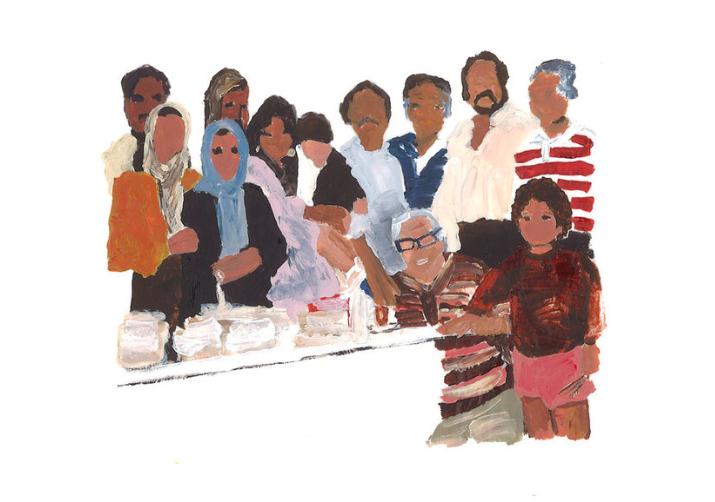 Family Reunion (Southern California via Iran 1986)