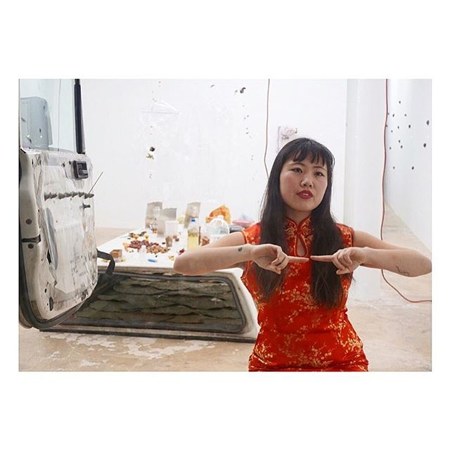 Tonight! ✨ Join us at Make Room #LosAngeles for a performance by artist #MichelleSui followed by a conversation between her + sculptor #CatalinaOuyang on the Chinese woman archetype in myths and onscreen, moderated by @nu.house. 7:30PM!