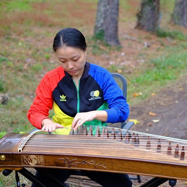 """When I look back, it was really amazing because we learned both the skills from western music and Chinese ancient music, combined. So you understand humanity in this very particular, interesting way."" Read our interview with guzheng virtuoso @wufeimusic now on our website!"