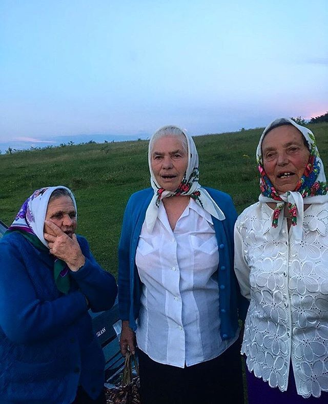 Our friends @ukrainianvillagevoices are in different villages of Ukraine this week exchanging songs and stories with babas ✨ Check out videos of their journey on their page!