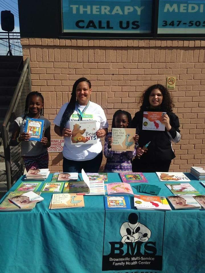 Host a book drive. - Help families start their own home libraries.