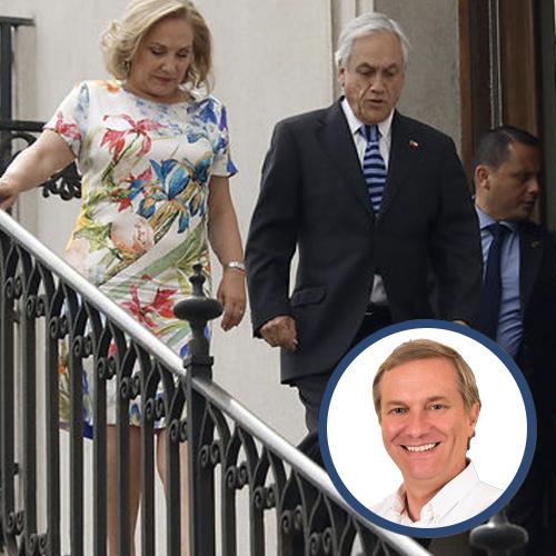 Ministra Cecilia Morel - José Antonio Kast18 de Diciembre 2018