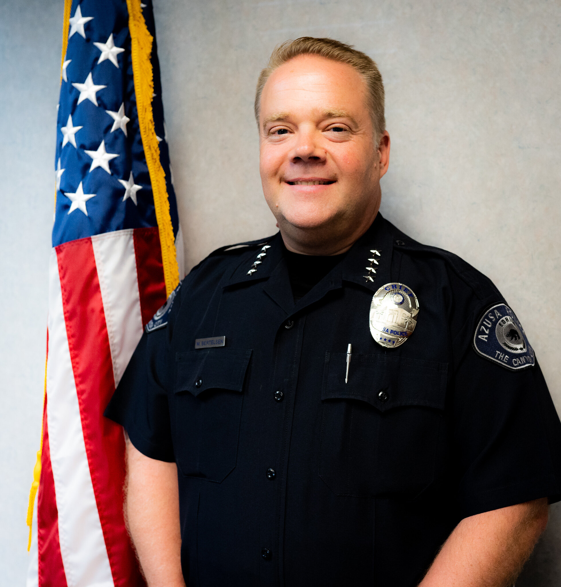 Mike Bertelsen - City of Azuza Police Department | Chief of PoliceAttended: 1994