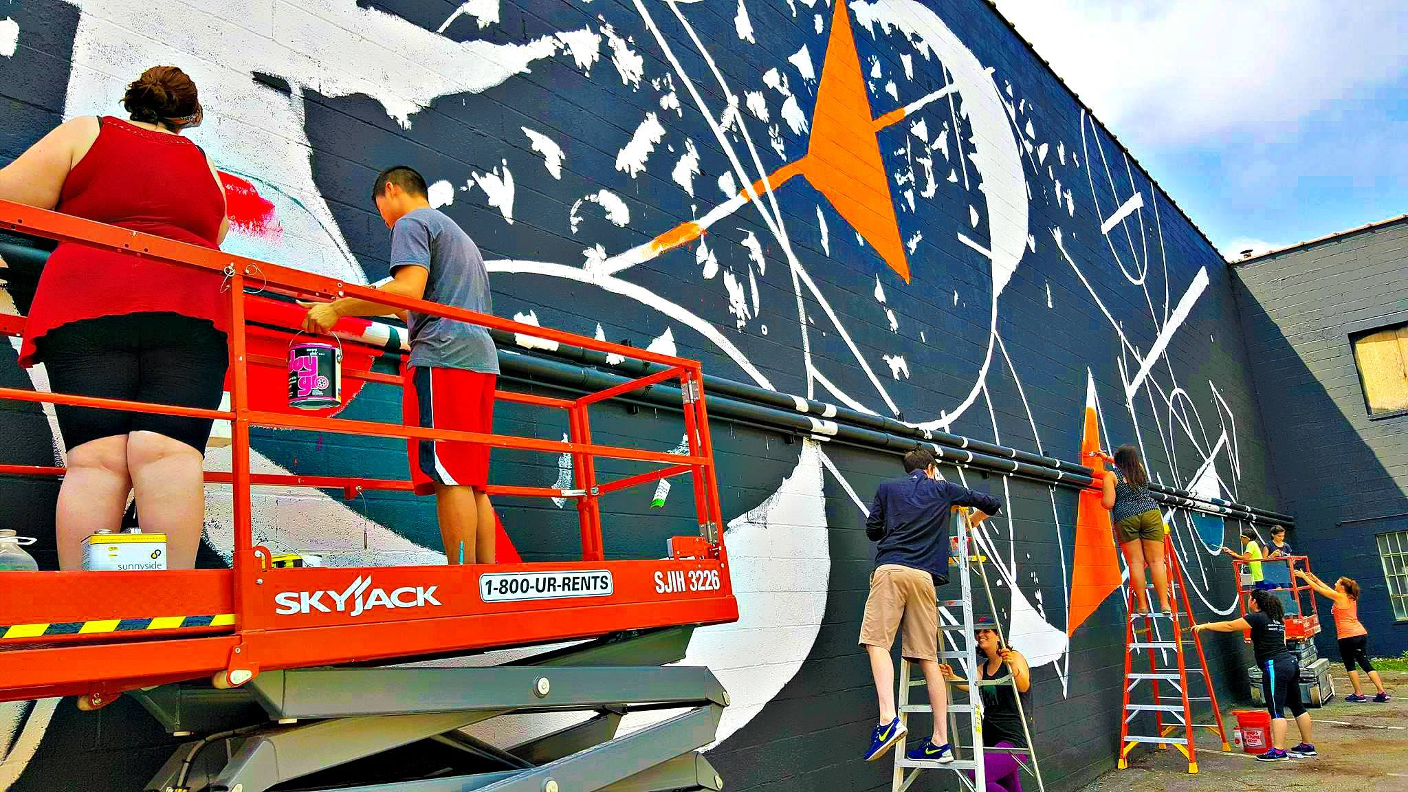 Superior Arts District Mural Project