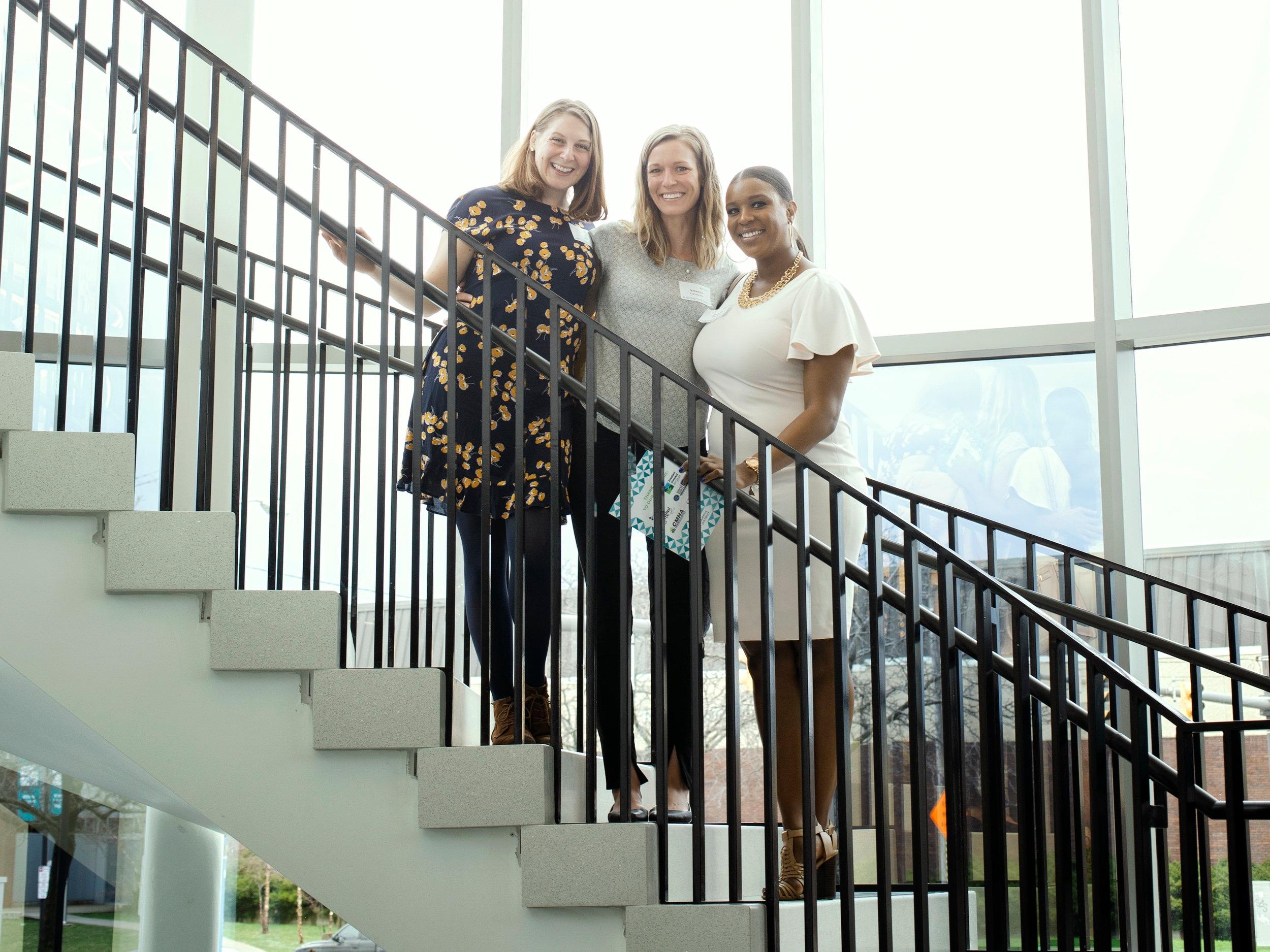 Kaela Geschke, Amanda LaGuardia, and Jazmyn Blockson.