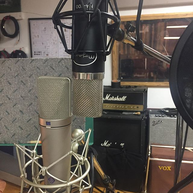 Lots of vocal tracking right now. What is your favorite vocal mic?