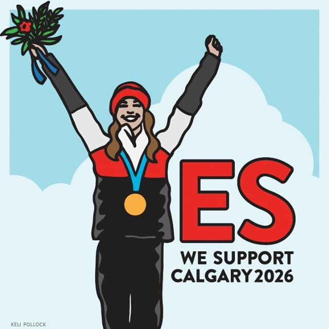 "We support the bid for 2026. On November 13th, vote ""YES""."