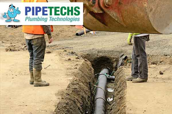Commercial Water & Sewer Excavation Services Raleigh, NC