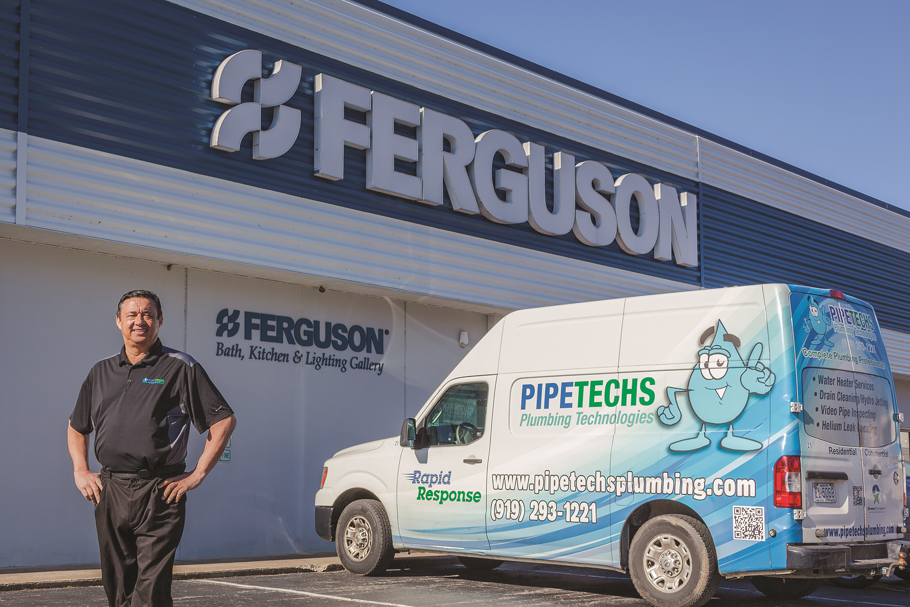 Dale Nichols, owner of  Pipetechs