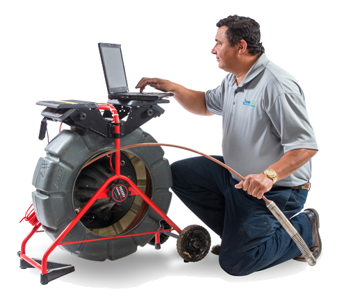 Residential In-Line Video Pipe Inspection Services in Raleigh, NC area