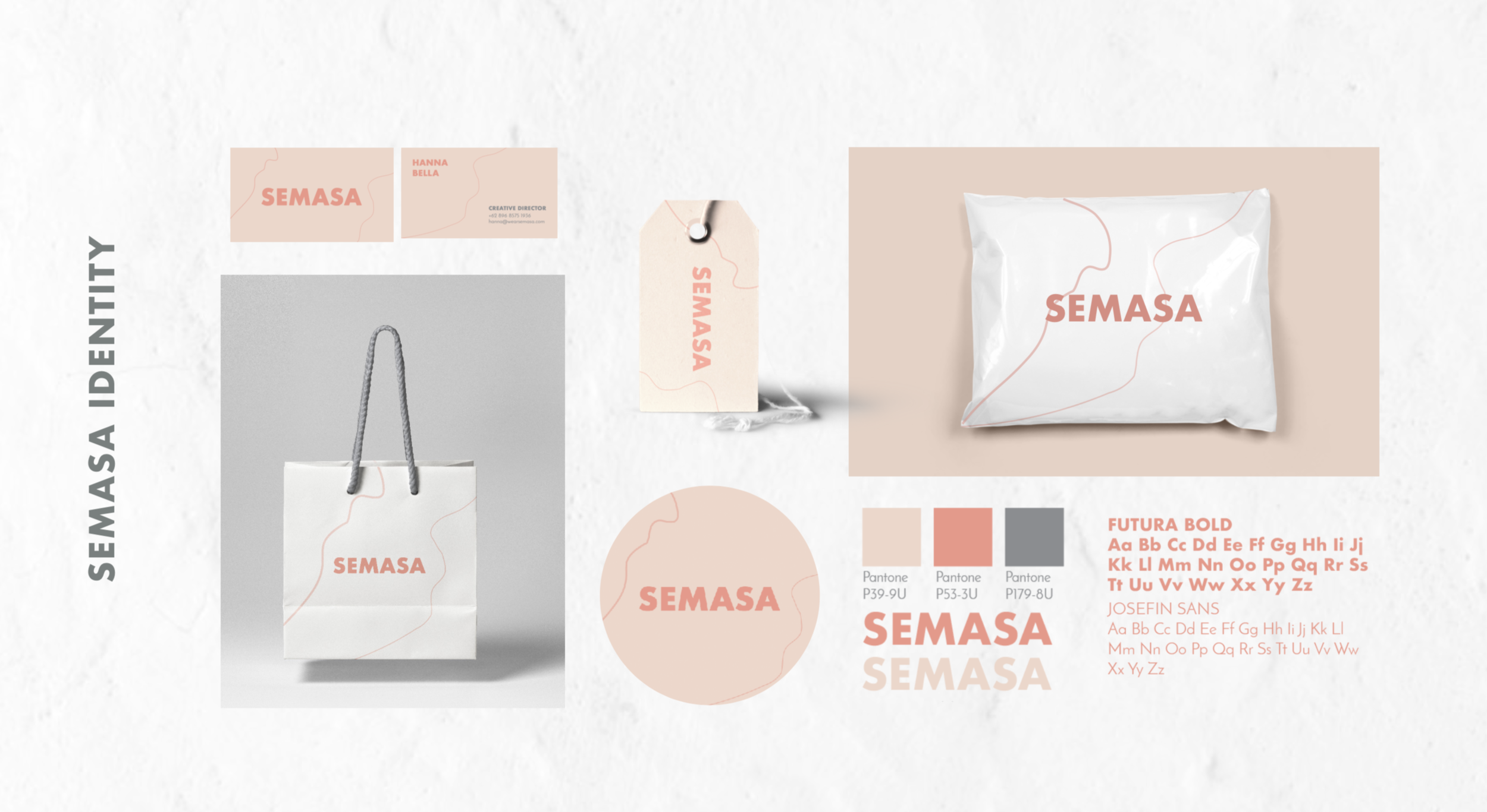 Color, font, packaging, business identity of SEMASA