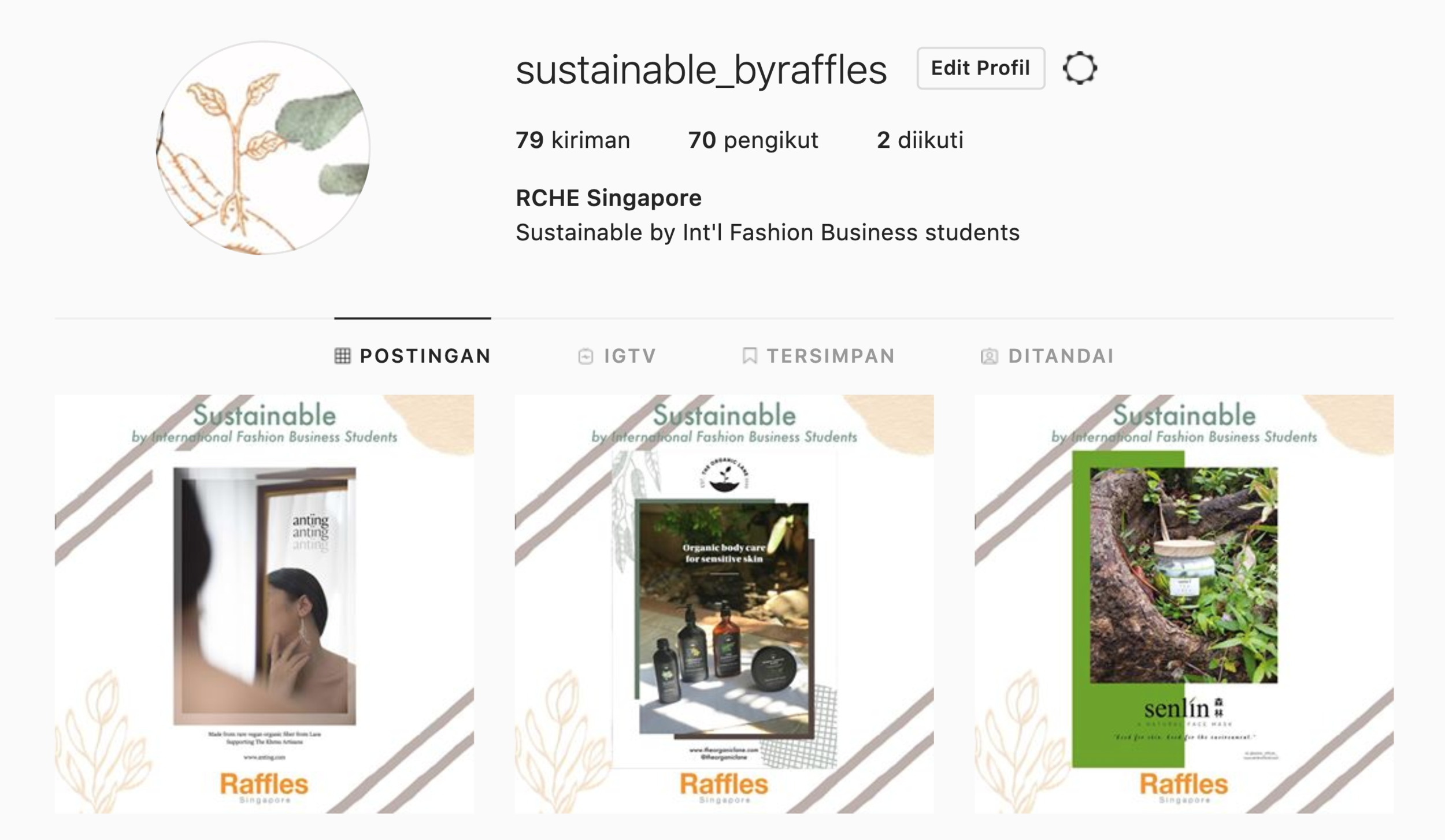 Final designs on @sustainable_byraffles