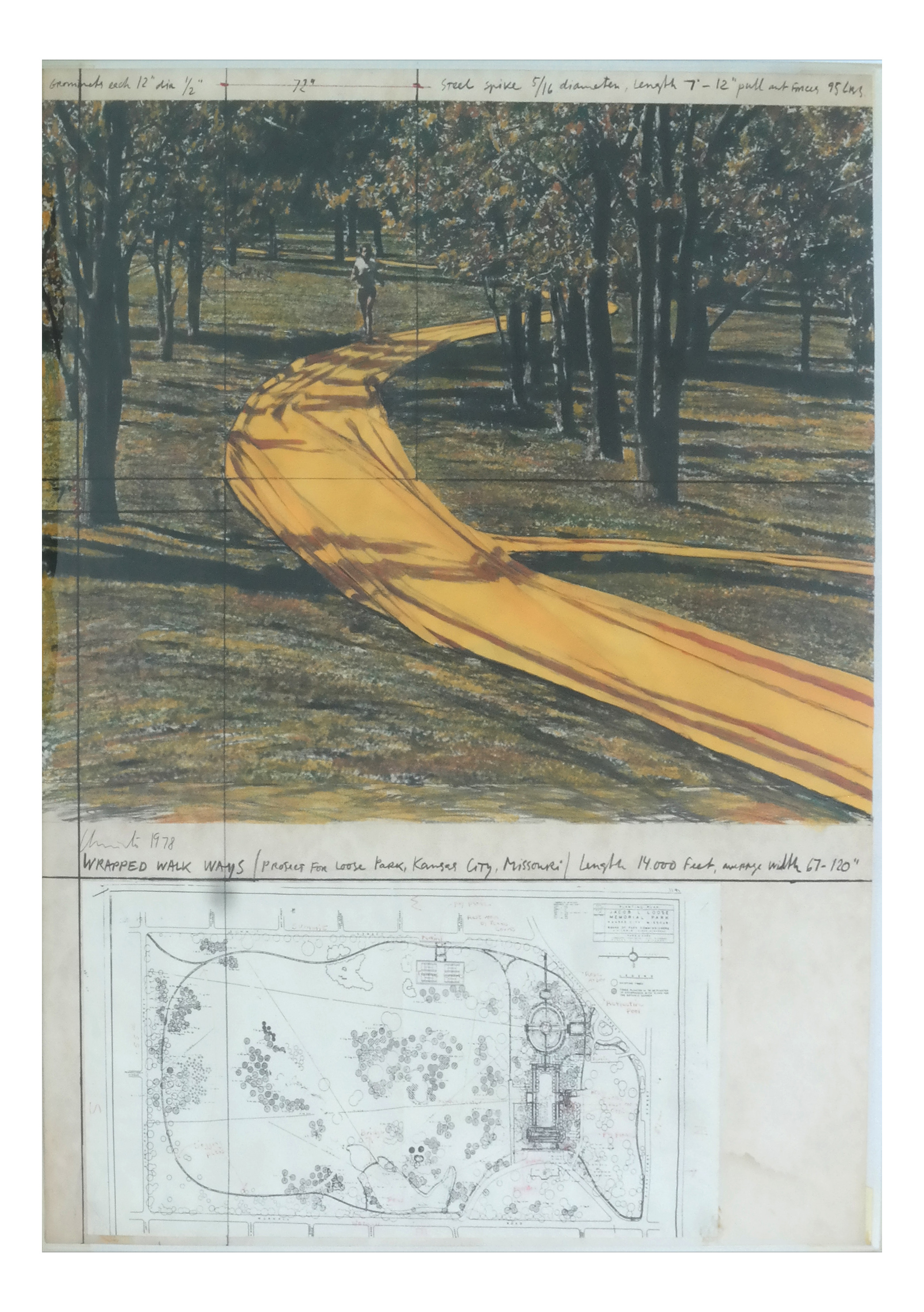 Lot 8 - Christo, Wrapped Walkways