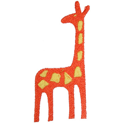 4. Giraffe (Orange/Yellow)