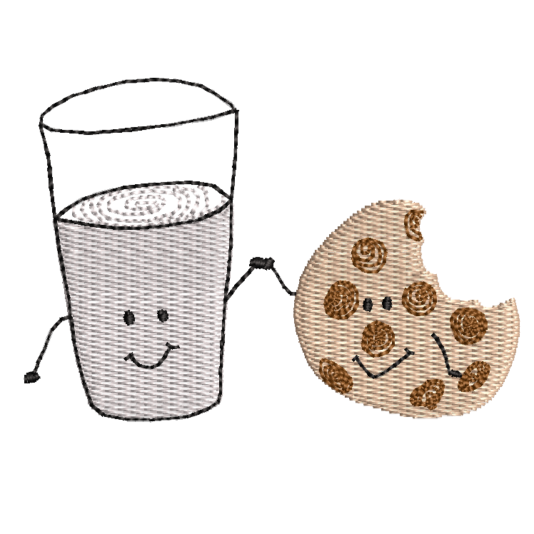 11. Milk & Cookie