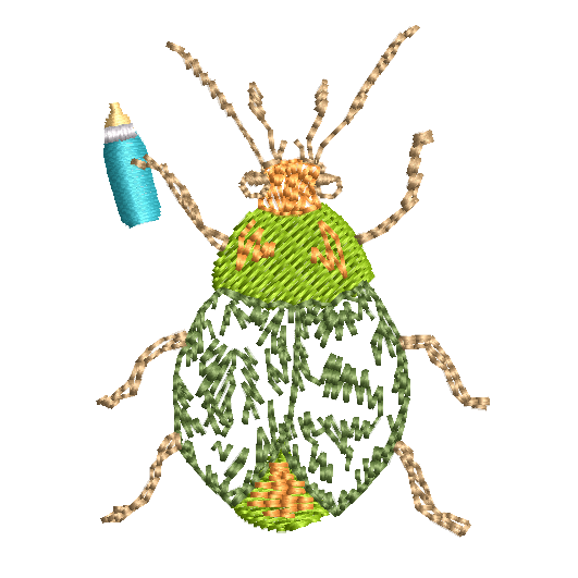 14. Beetle (Green)