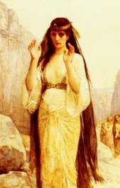 """""""The Daughter of Jephthah,"""" Alexandre Cabanel, 1870"""