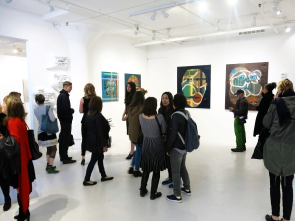 A Dalliance with Sensual Confectionery: Clen Gallery visits Rogue Space - Article by ArtsLife