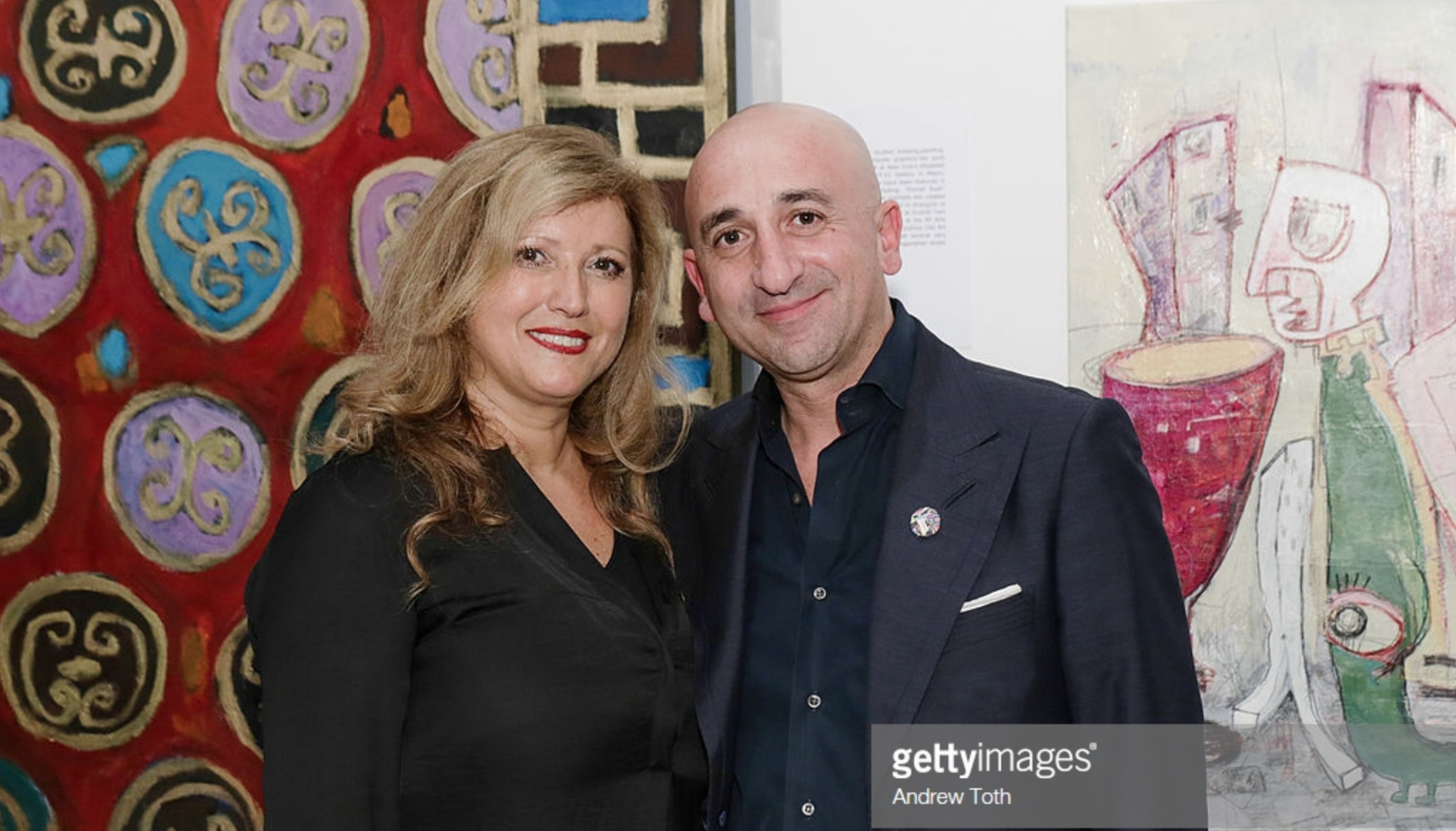 Clen gallery art exhibition - Publication by Getty Images