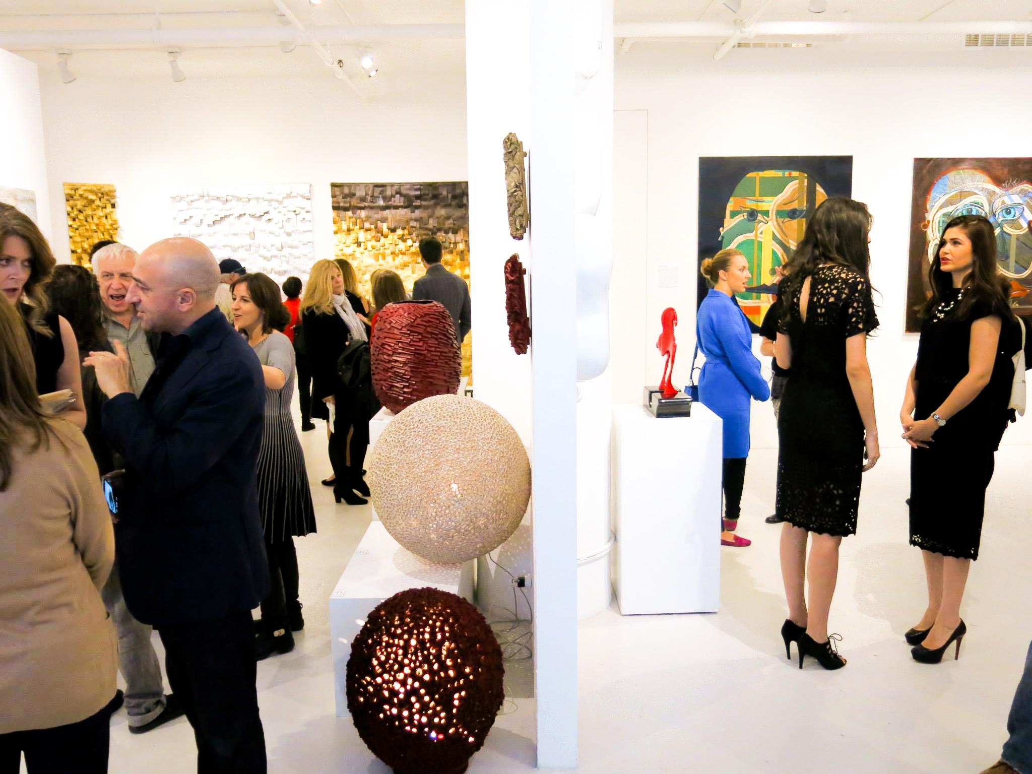A lezione di gusto e nomadismo da clen gallery - Article by La VOCE di New York