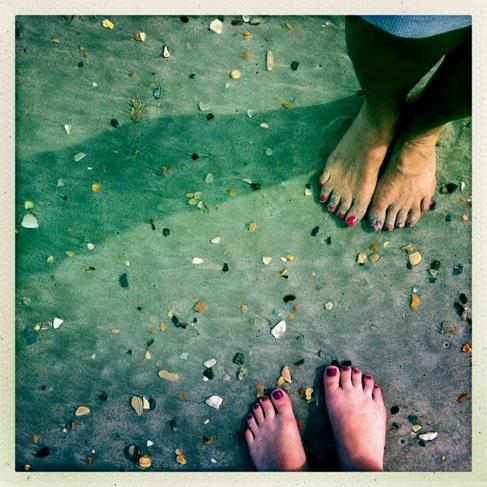 following in mom's footprints/wilmington